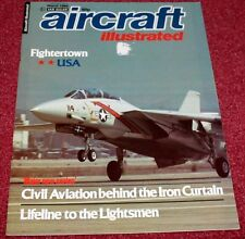 Aircraft Illustrated 1984 March Trinity House,NAS Miramar,RAF Far East,Swiss