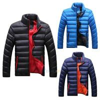 Men Slim Casual Warm Down Jacket Winter Coat Parka Overcoat Thick Coat Outerwear