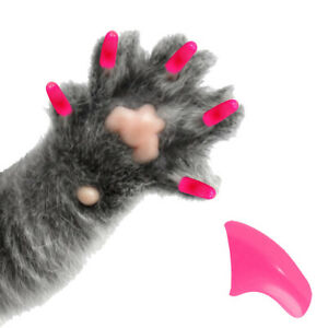 Soft Nail Caps for Cat Paws - 90 Day Supply Complete Kit - Pretty Claws Brand