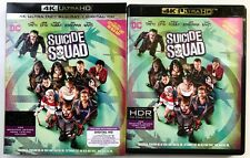 SUICIDE SQUAD 4K ULTRA HD UHD BLU RAY EXTENDED EDITION 2 DISC + SLIPCOVER SLEEVE