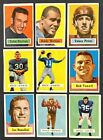 VINTAGE CARD LOT 1957 TOPPS FOOTBALL VENDING JOHNNY UNITAS ROOKIE CARD RC RARE