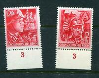 Germany 1945 Mi 909-910 MNH CV 90 euro Last stamps of 3rd Reich HAN 8597