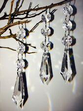 30x Chandelier Modern Ceiling Light Shade Droplet Pendant Acrylic Crystal Bead