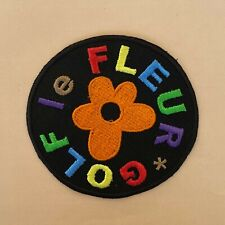 More details for iron on patch - tyler the creator golf le fleur embroidered hip hop rap