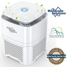 Large Room Air Purifier True Hepa Filter Odor Allergies Eliminator Home Office