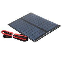 Mini Solar Panel Small Cell Module Charger With 30cm Wire J 5.5V 80x55mm