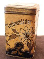 Dose aus Eisen Lorbeerblätter Glas Trampler Bester Kaffe