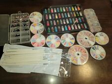 Lot Of Nail Art Supplies New And Used Plus New Brushes