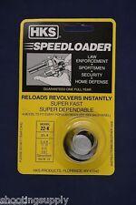 HKS 22-K Speed Loader 6 Shot Fits S&W, Colt, Dan Wesson NEW