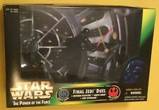 Star Wars LUKE SKYWALKER Darth Vader EMPEROR action figures JEDI DUEL1997 KENNER