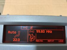 PEUGEOT 407 CAR Info Display LCD CID 9657882780 Berlino