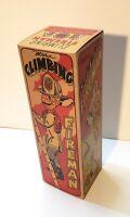 Marx Climbing Fireman Empty Box for Tin Wind Up Toy