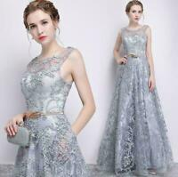 Women Formal Wedding Bridesmaid Evening Party Ball Prom Long Cocktail Dress