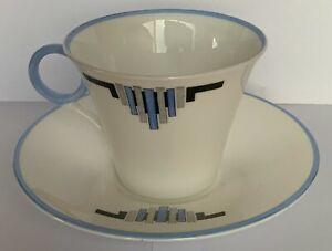 Shelley Regent WS0159/B Art Deco Tea Duo A/F