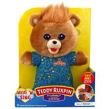 Teddy Ruxpin Hug 'N Sing Plush with Sound - Lullaby Teddy 2018 Exclusive NEW