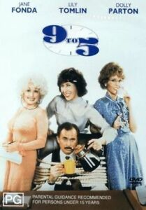 9 To 5 (Nine To Five) Dolly Parton Jane Fonda New DVD R4