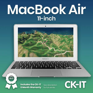 "Apple Macbook Air 11"" i5 1.6Ghz 128gb ssd 4GB Grade B Warranty ref P38"