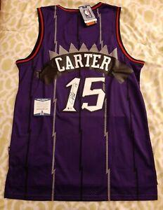 Vince Carter signed autographed Toronto Raptors jersey Beckett BAS COA #AA48873