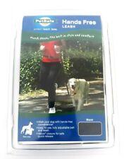 PetSafe Pet Safe Hands Free Dog Leash Black Nylon Adjustable Belt Puppy New NIP