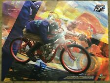 Nicky Hayden Promotion Poster (Inaugural MotoGP Race at IMS - 2008)