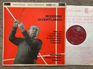 Rossini: Overtures - Fritz Reiner ...RCA SB-2075 ED1 Living Stereo ..NM