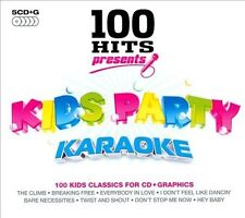 Karaoke: 100 Hits Presents: Kids Party Karaoke [Box] by Karaoke (CD, Jul-2010, 5 Discs, 100 Hits)