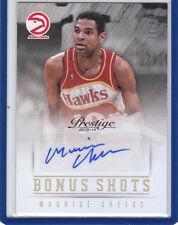 Maurice Cheeks 2013 13 14 Panini Prestige Bonus Shots Gold Autograph 9/10 Hawks