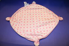 Stephan BABY GIRLS Floral Security Blanket Plush Pink Rattle Corners 2007 Lovey