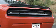 2008 - 2014 Dodge Challenger Smoke GTS Tail Light Covers + Center Panel 3pc Kit