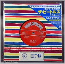 "BEATLES Love Me Do JAPAN 50th ANNIV 7"" MISSPRESS R 4714 Euro Press NEW Sealed"