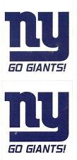 NEW YORK GIANTS NFL Football Scrapbook Stickers