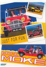 Mini Moke, just for fun MODERN postcard issued by Vintage Ad Gallery