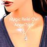 Magic reiki Owl Spirits communicator, spychic skills enhancer Necklace