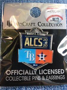 Houston Astros 2020 ALCS vs Rays Commemorative Lapel Pin NEW WinCraft MLB