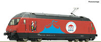 "Roco H0 70656 Locomotive Électrique Re 460 058-1 Cirque Genou Le SBB "" 2020 "" -"