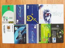 10 alte Pay TV Smartcards