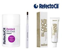 Refectocil BLOND BROW KIT  with Developer Cream 3%  100ml  eyebrow tint dye