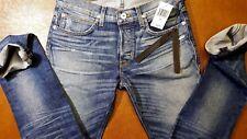 NEW Hudson Jeans Men's Gray Agender Jeans Slim Skinny Fit Size W31 L32 $248.00