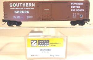 Z MTL 13618-2 50ft Std Box Car Plug Door SOU LNIB