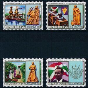 [P15909] Burundi 1986 : Good Set Very Fine MNH Stamps - $80
