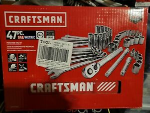 Craftsman 47 Piece Mobile Mechanics Tool Set NIB CMMT12019