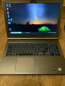 "Dell Vostro 7580 15.6""  i7-8750H 16GB 1TB SSD  NVIDIA GTX 1060 6GB Gaming Laptop"