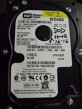 """Western Digital 40GB 7200RPM 3.5"""" SATA Desktop Hard Drive WD400JD-75hka1"""