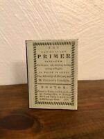 New England Primer 1:3 Scale Mini School Book for American Girl Kirsten
