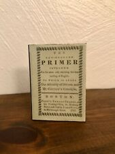 New England Primer 1:3 Scale Mini School Book for American Girl Kirsten