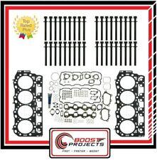 Cylinder Head Bolt Set&Head Gasket Set Grade C 1.05mm Chevy 6.6L Duramax Diesel