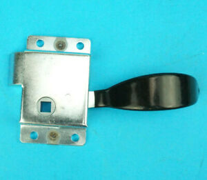 Metal Latch Slam Lock with Black Handle RHS Right Hand Internal Catering Trailer