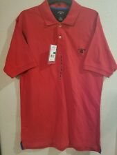 New Mens U.S. Polo Assn. Polo Rugby Shirt Size Large Red