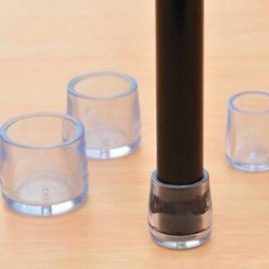 Gummi-Boden-Stuhl-Anti-Scratch-Schutz-Kappe-Tisch-Ferrule-Füße-bein-Große Neu