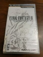 Final Fantasy Iv: The Complete Collection (Sony Psp, 2011) New In Box - Sealed
